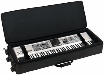 Мягкий кейс для клавишных на колесах Rockcase RC21519B: фото